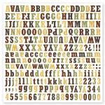 [Pin It] For The Record Collection - For The Record Alphabet Stickers