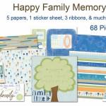 Adorn it - Happy Family Memory Kit