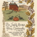 Be Joyful Always - Cross Stitch Pattern