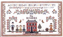 Family Sampler - Cross Stitch Pattern