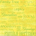 [Pin It] Family Tree - Background Paper