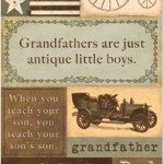 Gentler Times Collection - Grandpa - Accessory Sheet