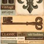 Gentler Times Collection - Antique - Accessory Sheet