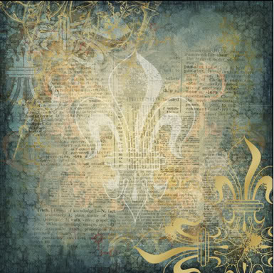 """Chivalry Gold Foil Cardstock - Honor 12""""X12"""""""