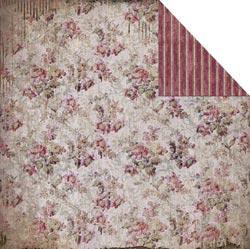 Heritage - Small Floral/Aubergine