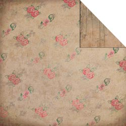 Fabscraps - Heritage - Roses - Corrugate & Pink