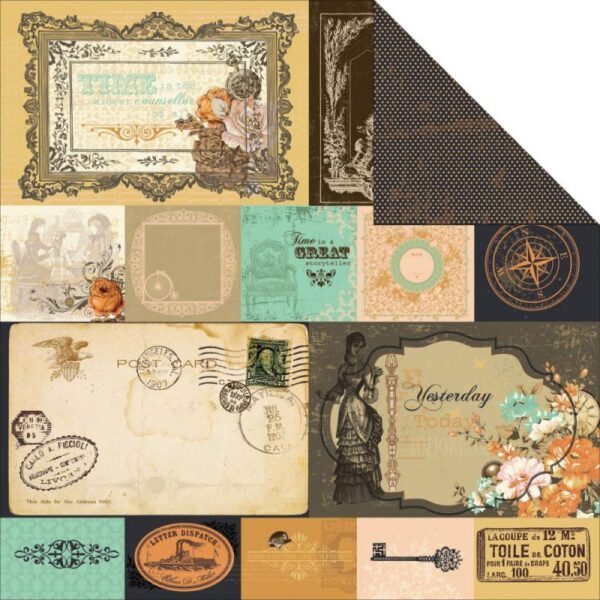 """Miss Empire - Ancestry - 12""""X12"""" Double-Sided Cardstock"""