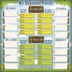 Kids Ancestry - My Family Chart