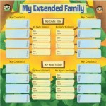 Kids' Ancestry - My Extended Family Chart