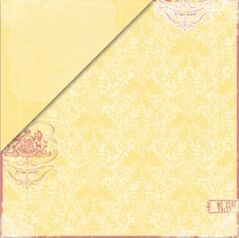 Clothesline - Canary Damask / Canary