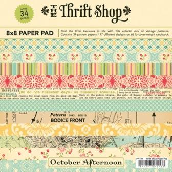 "Thrift Shop - Paper Pad - 8"" x 8"""