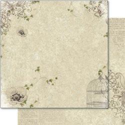 August Moon - Poppy - 12 x 12 paper