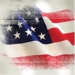 Sugar Tree Papers - U.S. Flag Wind Blown