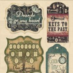 Memory Lane - Chipboard Stickers