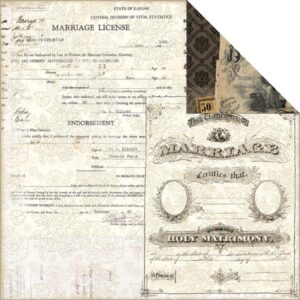 7 Gypsies - Harmony - Certificate Of Marriage