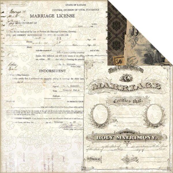 7 Gypsies - Harmony - Certificate Of Marriage