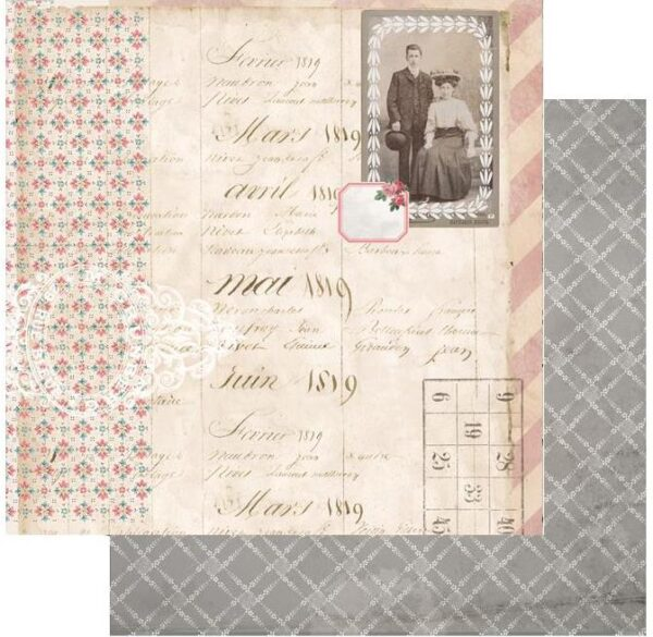 7 Gypsies - Trousseau Double-Sided Paper - Lovely