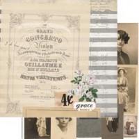 7 Gypsies - Trousseau Double-Sided Paper - Grace