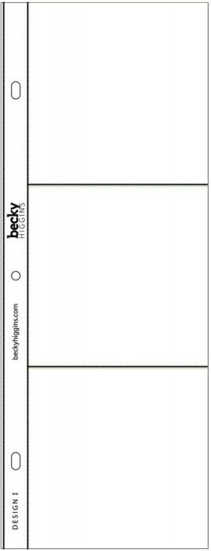 Project Life Photo Pocket Pages - Design I