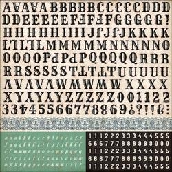Echo Park - Times & Seasons - Alpha Stickers12x12