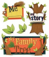 Kids Ancestry - Stacked Stickers