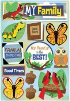 Kids' Ancestry - My Family - Cardstock Stickers