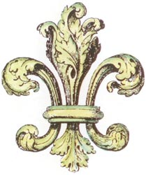 Lablanche Silicone Stamp - Fleur De Lis