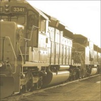 Sugar Tree Papers - Train