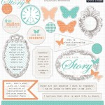 Teresa Collins - Tell Your Story Chipboard Elements