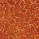 Tim Coffey - Fall Orange Scroll