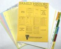 Family History Starter Kit G