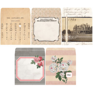 7 Gypsies - Trousseau - Tag Envelopes