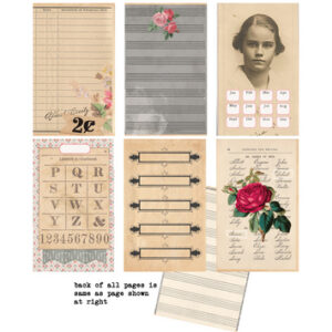 Trousseau Collection - Journal Pages