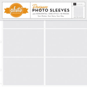 Echo Park - Photo Freedom - 12 x 12 Designer Photo Sleeves