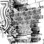 Lablanche Silicone Stamp - Brick Background