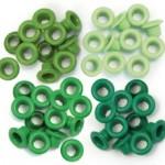 Eyelets - Standard Green - We R Memory Keepers