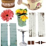 Fabscraps - Shabby Chic - Clear Stickers