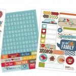 """Family Sn@p! - Stickers 4""""X6"""""""