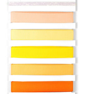Grosgrain Monochromatic Ribbon - Sunsets
