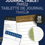 My Little Yellow Bicycle: Say What? Journal Tablet - Family Matters