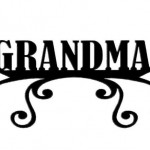 Scrapbook 101 - Grandma - Mini Photogenix Laser Die Cuts