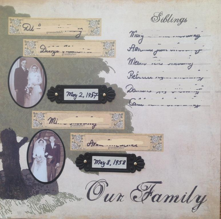 Family Record - Our Family 2
