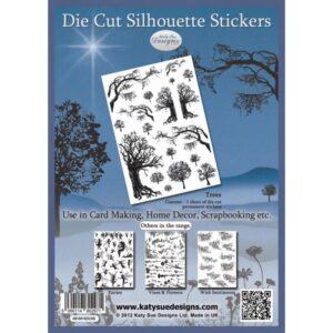 Trees - Die Cut Silhouette Stickers
