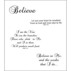 Heartfelt Creations - Believe