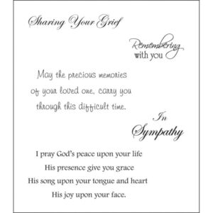 Heartfelt Creations - Sympathy Sentiment