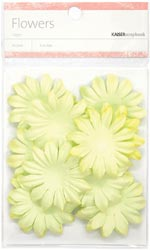 Paper Flowers - 5 cm - Lime