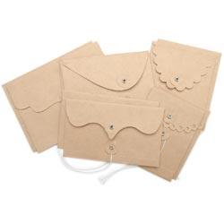 Maya Road - Kraft Envelope With Flap & String