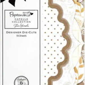 Papermania - Lincoln Linen - Designer Die-Cuts