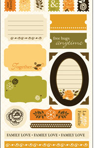 S.E.I. - Moonrise Cardstock Stickers