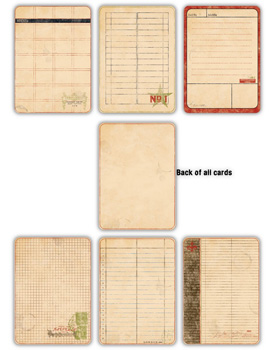 7 Gypsies - Journal Pages - Vintage